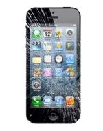 Recycler Apple iPhone 5 64Go écran cassé